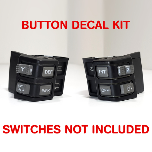 SWITCH DECAL KIT for VL  (WIPER/DEFOG/ANTENNA)